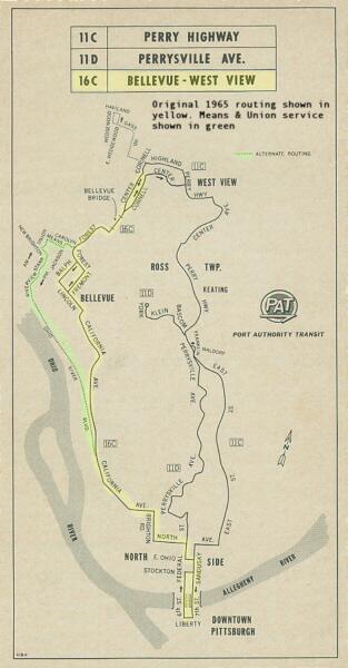 Amcap Route History 16c Bellevue West View